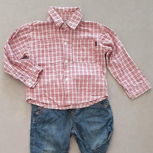 חולצה מכופתרת לילד 4