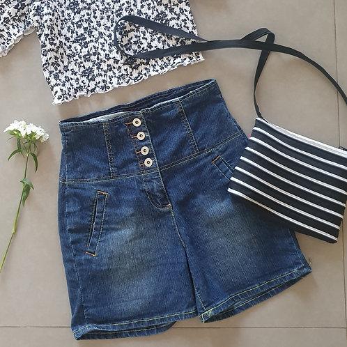 מכנס ג'ינס טליה גבוהה S