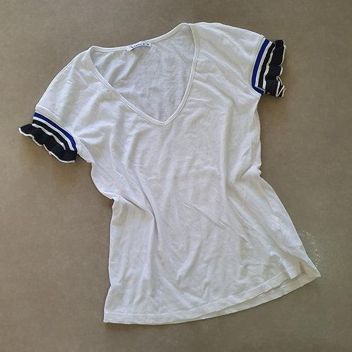 חולצת טריקו עם שרוול מעניין 34