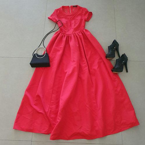 שימלת סינדרלה או נסיכות אדומה XS