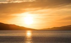 Scarista sunset