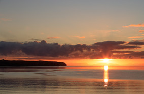 Sunrise over the minch