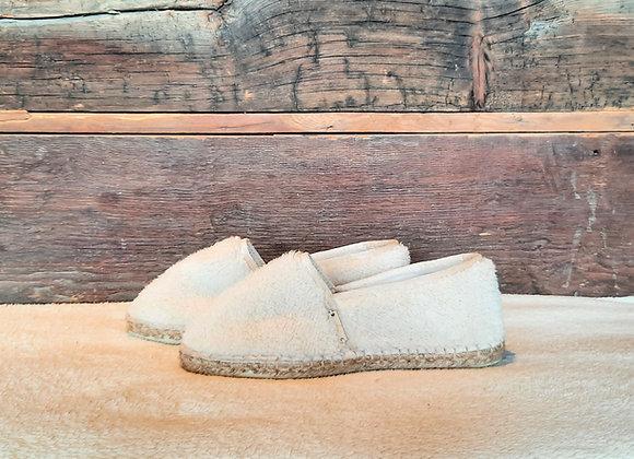 Espatoufles MOUTON blanc