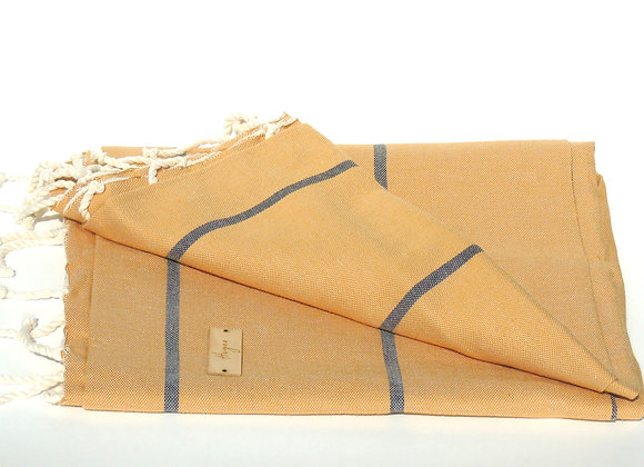 Fouta LIGHT MOUTARDE
