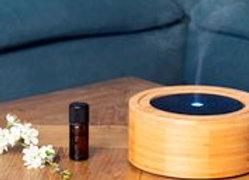 Diffuseur d'huiles essentielles ultrasonique Design Bambou