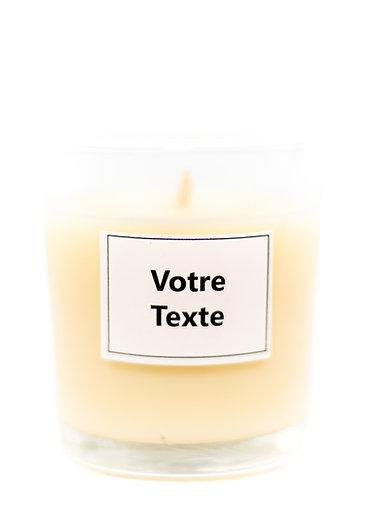 Bougie 70gr - Texte personnalisable