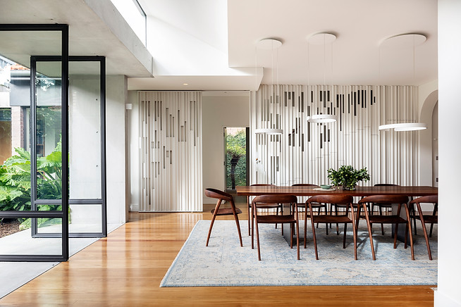 Twin Set House, Glebe, by Welsh and Major Architects Photography by Tom Ferguson