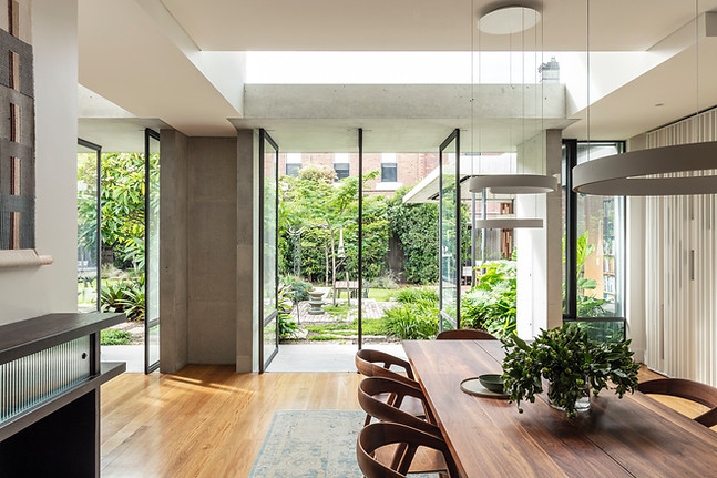 Twin Set House by Welsh and Major Architects