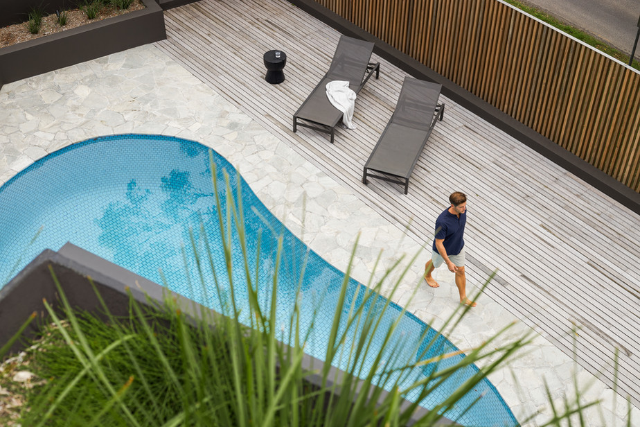 Photography: Andy Macpherson Project: Prebuilt Byron Bay project