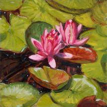 Leigh Smith, Summer Joy, oil on canvas,