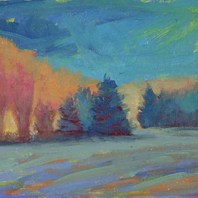 Leigh Ann Smith_Night Walking, oil on ca