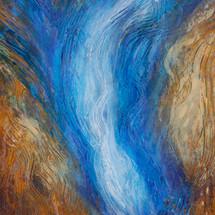Leigh Smith, Smoke and Mirrors, acrylic