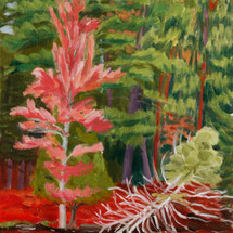 Leigh Smith, Pink Tree, oil on canvas, 1