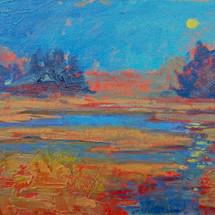 Smith,Leigh_Still Night, Oil on canvas,