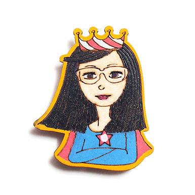 Super Woman Badge Magnet 2