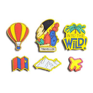 Traveller Badge Magnets Combo 1