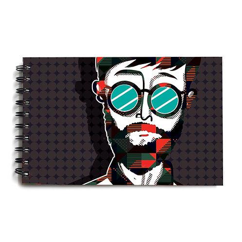 Urban Man Hardbound Sketchbook 9