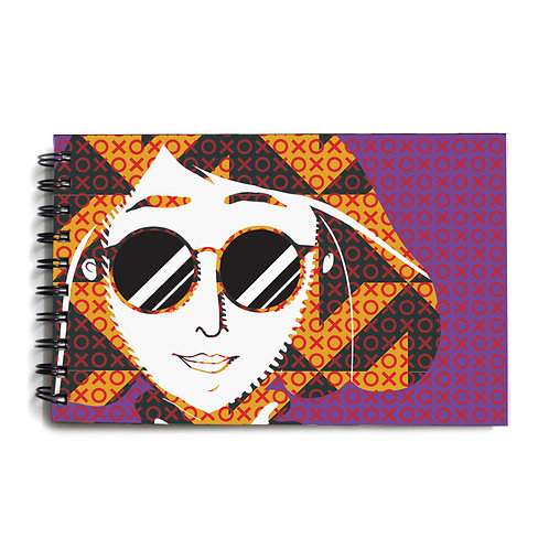 Urban Girl Hardbound Sketchbook 5