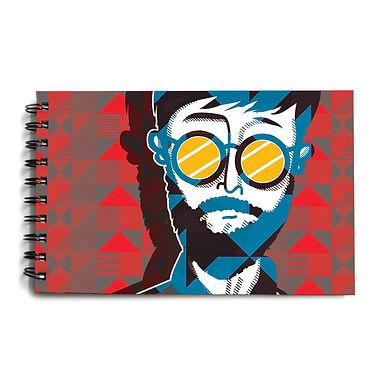 Urban Man Hardbound Sketchbook 10