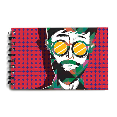 Urban Man Hardbound Sketchbook 8