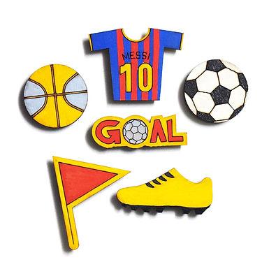 Football Badge Magnets Combo 1