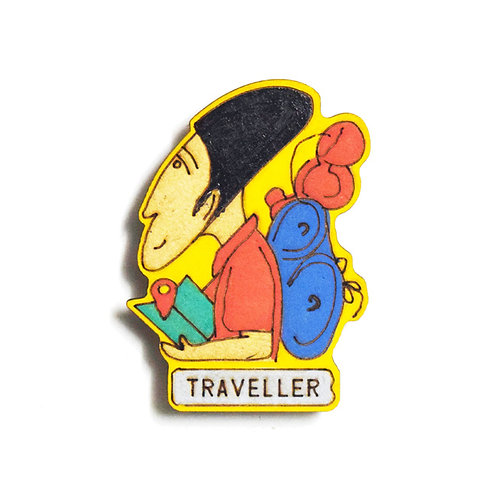 Traveller Badge Magnet 5