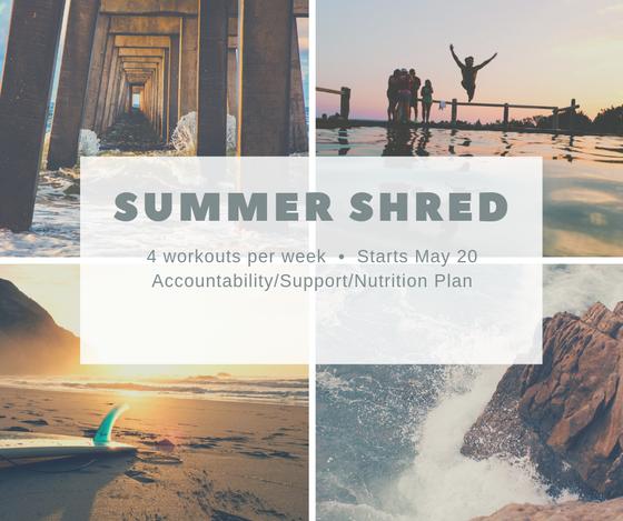 Summer Shred Fitness Challenge!