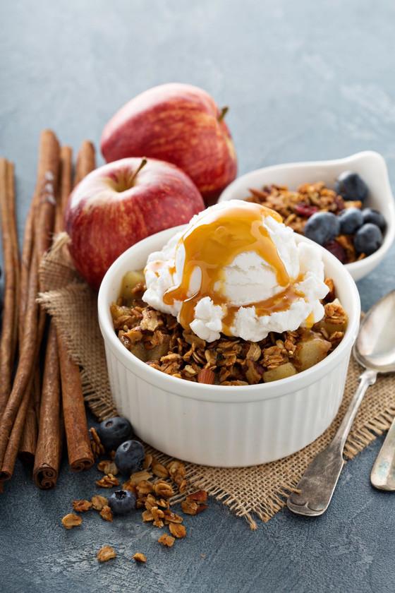 Gluten-Free Instant Pot Apple Crisp