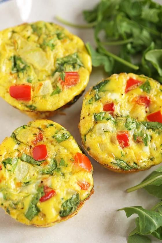 On The Go Breakfast Egg Muffins