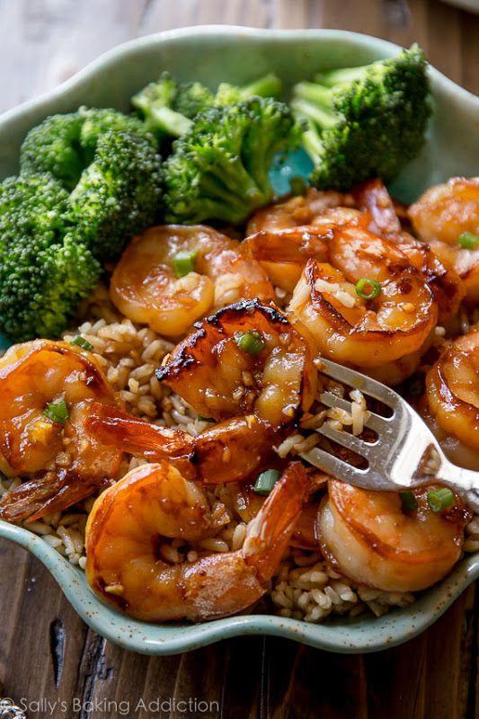 20 Minute Honey Garlic Shrimp