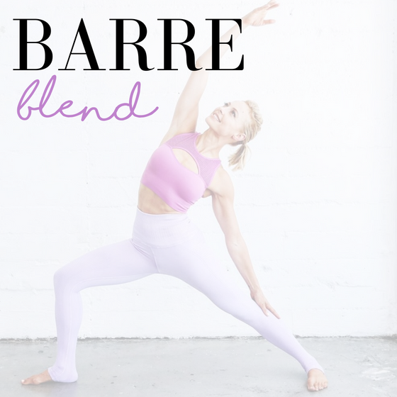 Join our virtual Barre class!