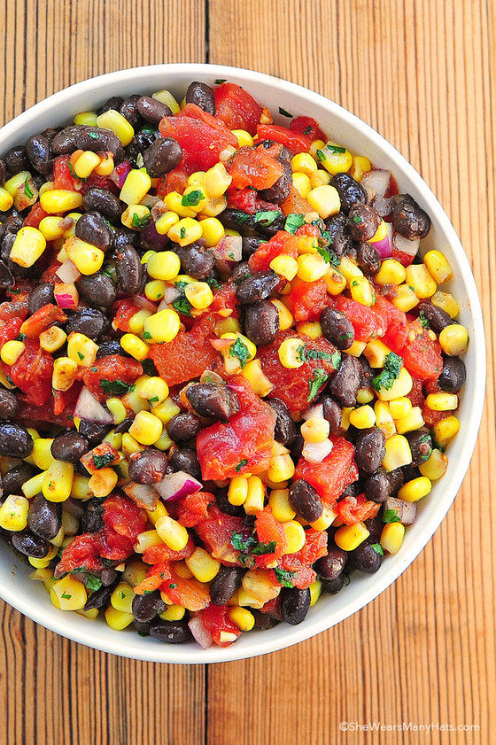 Summer Bean Salsa