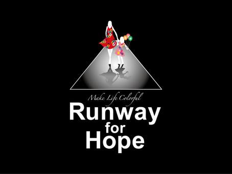 【Runway for Hope × Fashion × Arts 認知向上プロジェクト進行中】