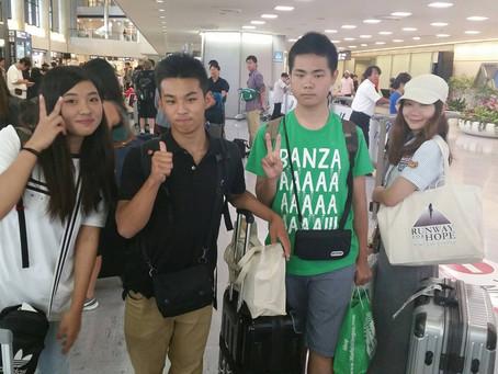 オレゴン留学生: 無事に日本へ帰国しました