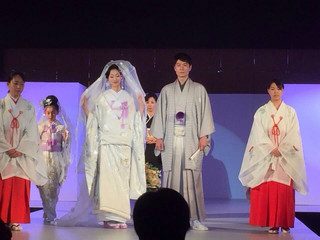 Bride of Japan 2014 Winner Miss Nanaka Kurobe has attend and participated in a show Model