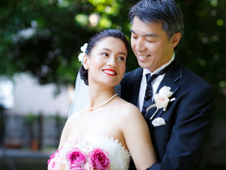 Bride of Japan Winner 2013 Miss Natsuko Shimizu got married.