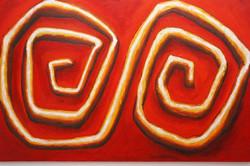 'Harmony acrylic and canvas 2011