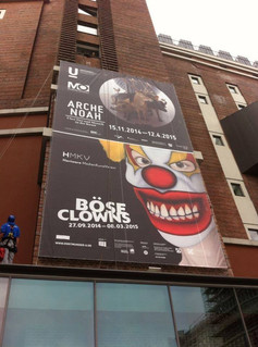 Exhibition Böse Clowns, 2015