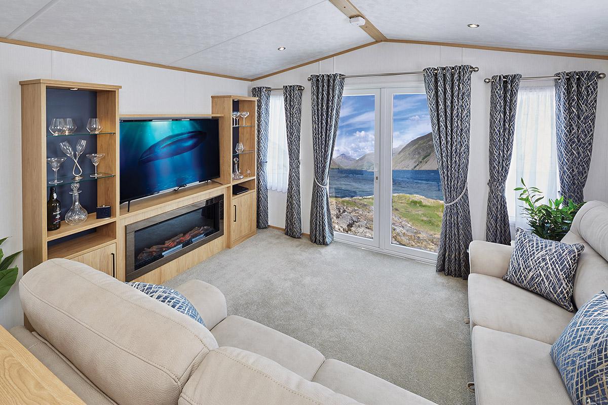 Carnaby Chantry Lodge Living Room4
