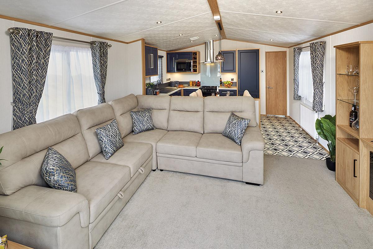 Carnaby Chantry Lodge Living Room