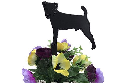 Jack Russell Flowerpot Stake