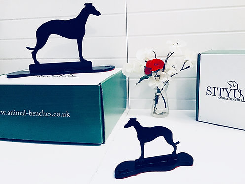 Greyhound Silhouette Ornament