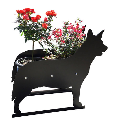 Australian Cattle Dog Themed Planter