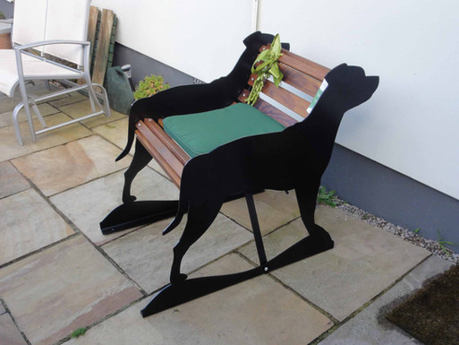 Staffordshire Bull Terrier Bench