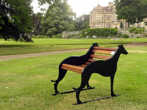 Single Seater Whippet Bench