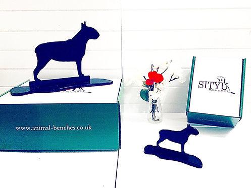 English Bull Terrier Silhouette Ornament