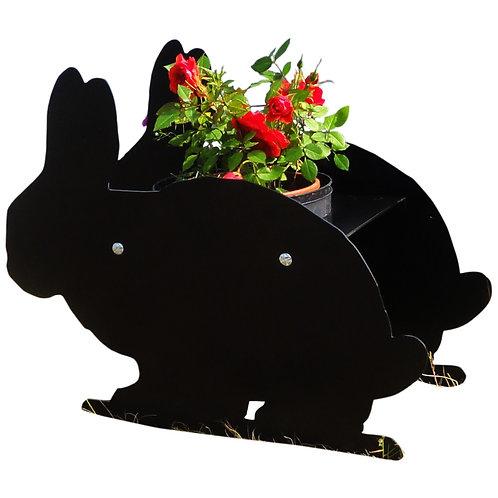 Rabbit Themed Planter