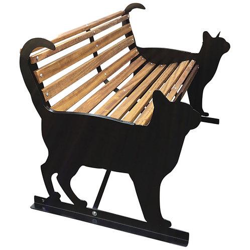 Cat Garden Bench