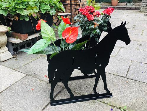 Horse Themed Flowerpot Planter