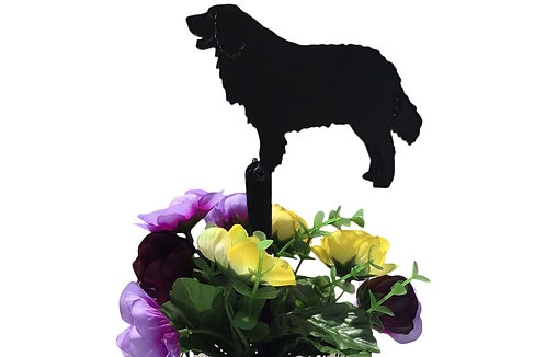 Bernese Mountain Dog Flowerpot Stake